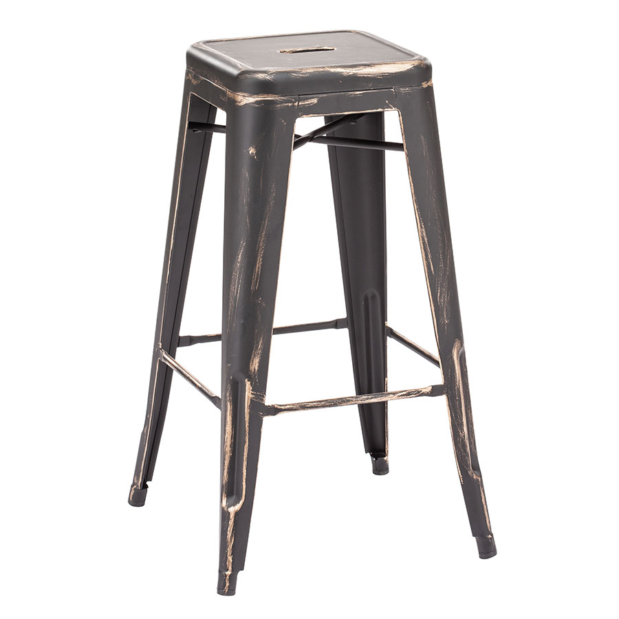 Manu Set of 2 Contemporary Bar Stools