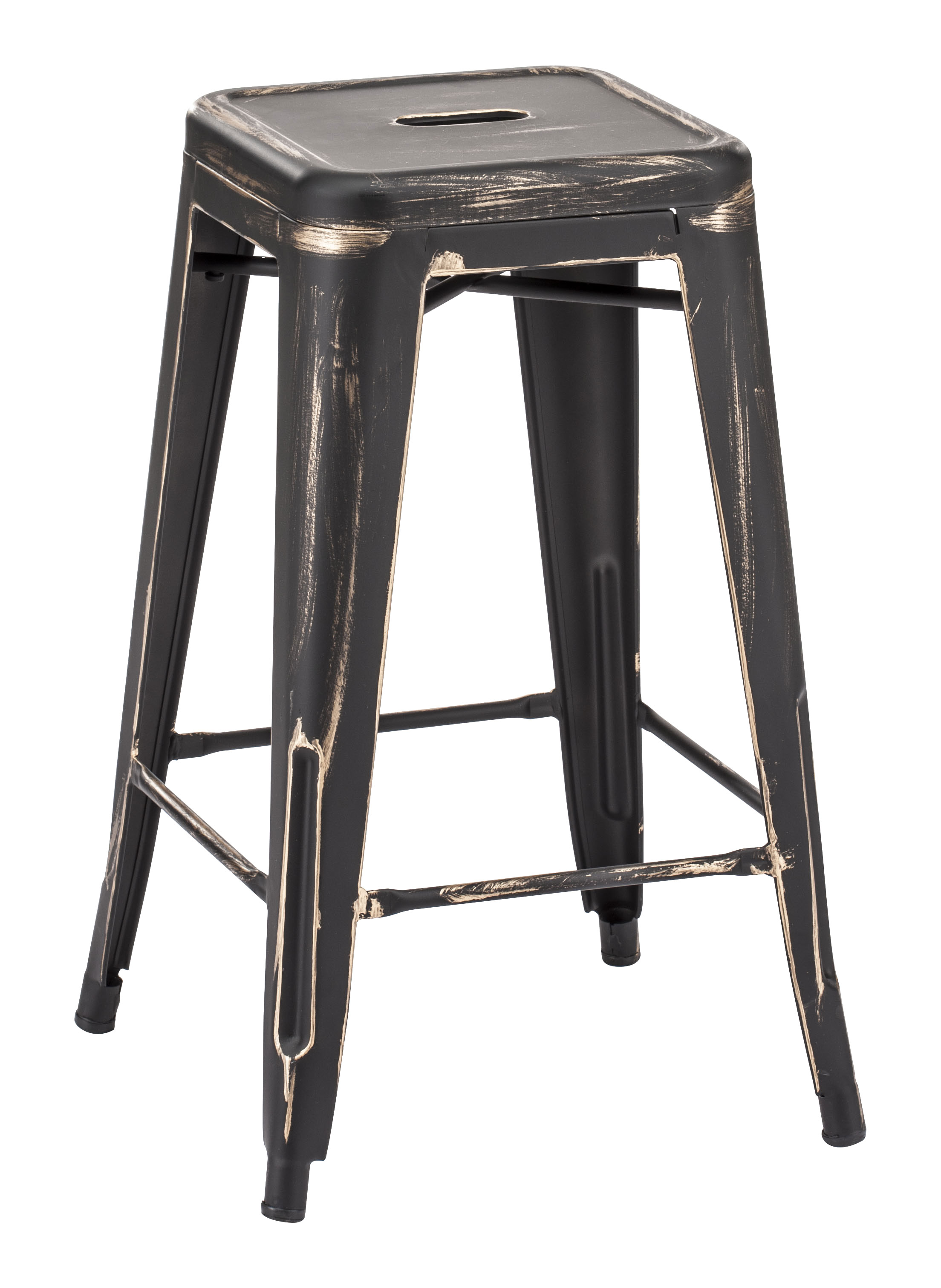 Manu Set of 2 Contemporary Counter Stools