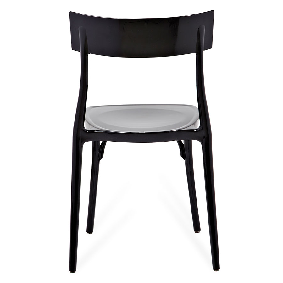 Marco Black Polycarbonate Modern Side Chair