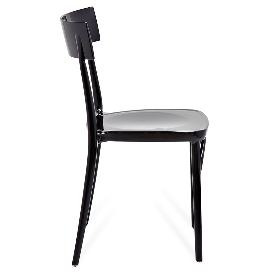 Marco Black Contemporary Side Chair