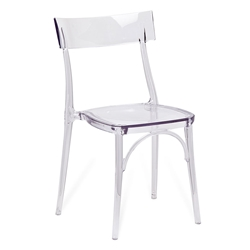 Marco Clear Modern Side Chair
