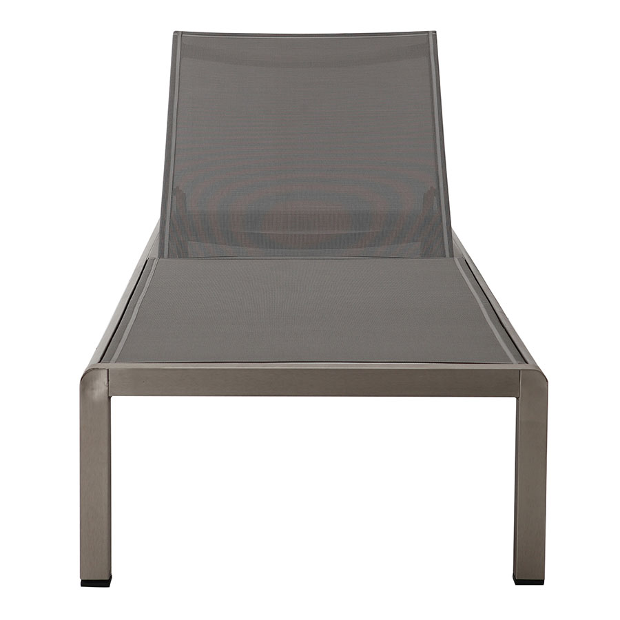 Marge Gray Contemporary Outdoor Chaise