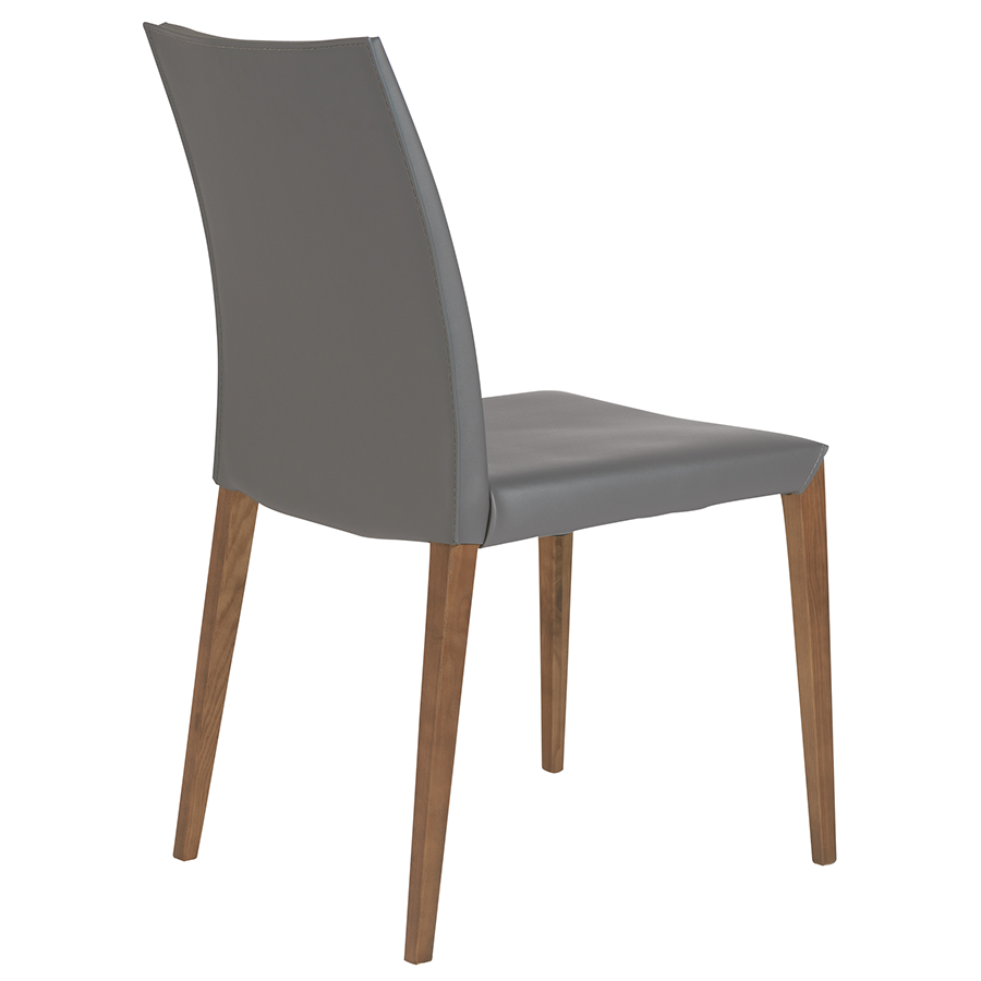 Maricella Anthracite Modern Side Chair