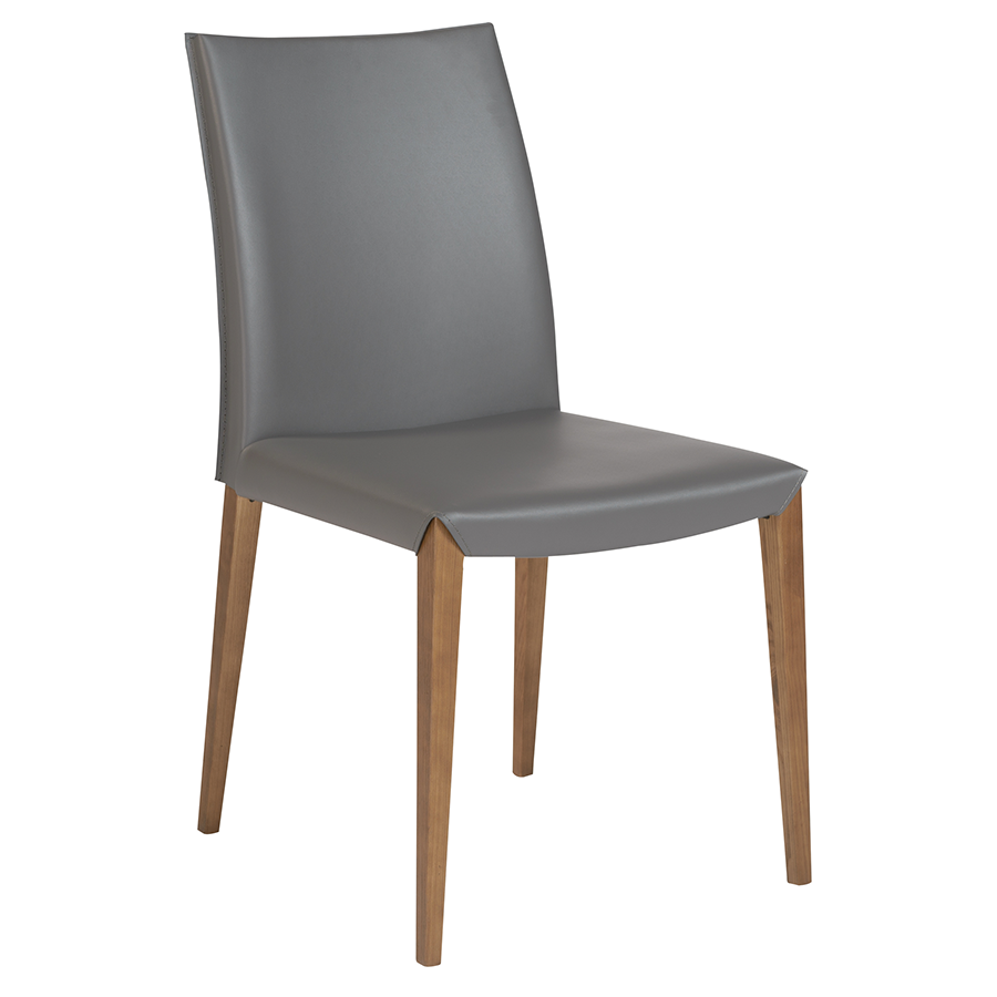 Maricella Anthracite Modern Dining Chair