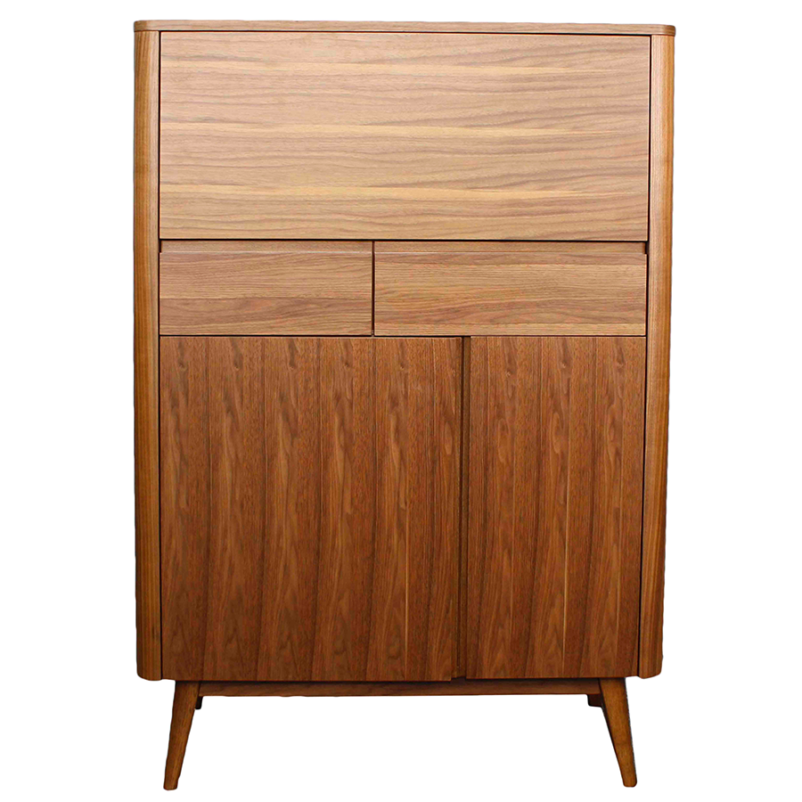 Marika Contemporary Bar Cabinet
