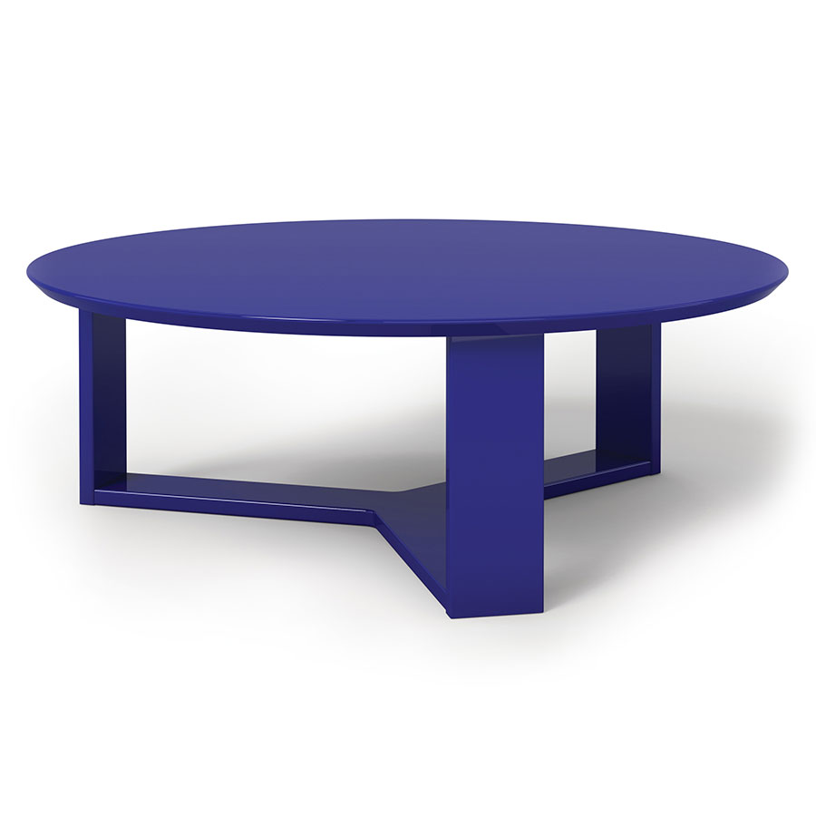 Markel Modern Midnight Blue Coffee Table