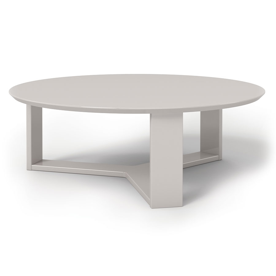 Markel modern off white coffee table eurway furniture for Furniture of america inomata geometric high gloss coffee table