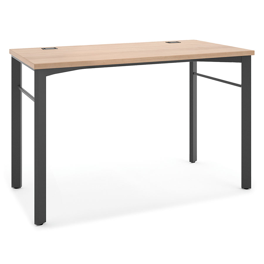 Marlin Modern 48 Inch Desk in Wheat
