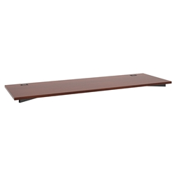 Marlin Modern 72 Inch Desk Top in Chestnut