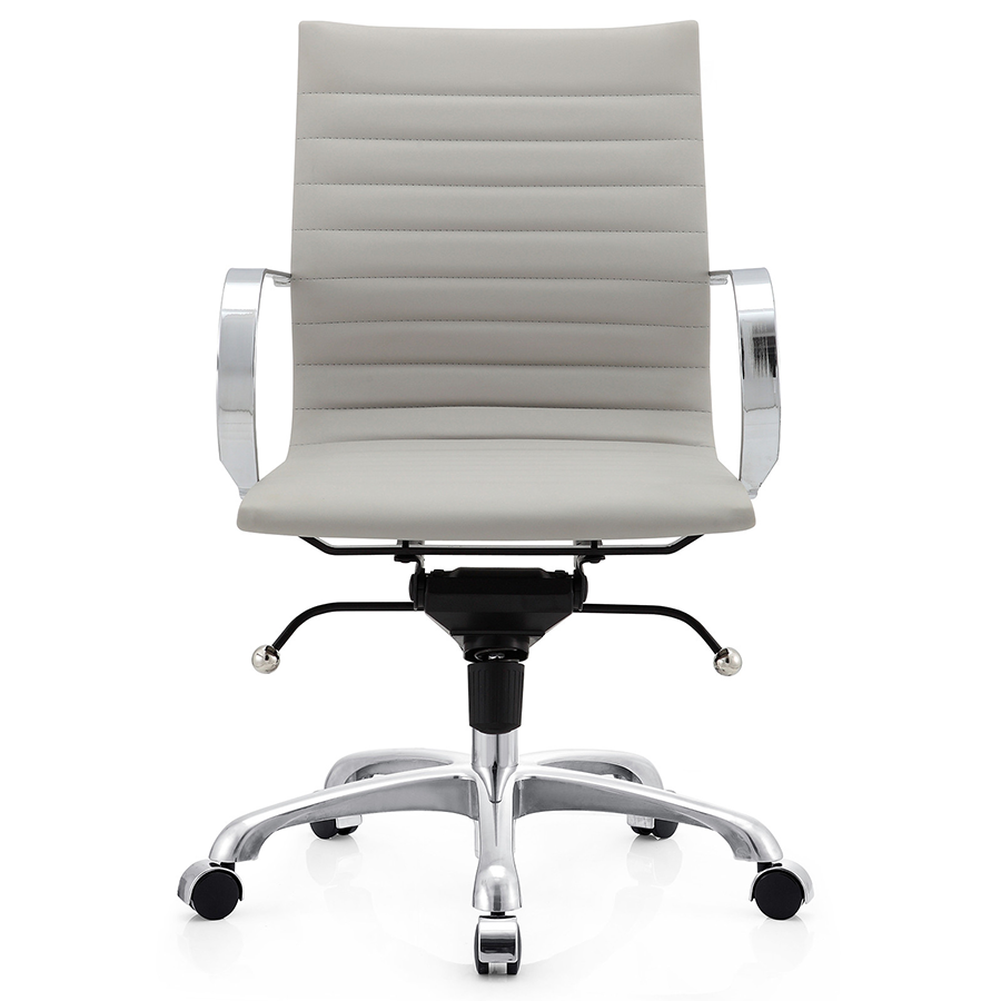 Marna Gray Contemporary Office Chair