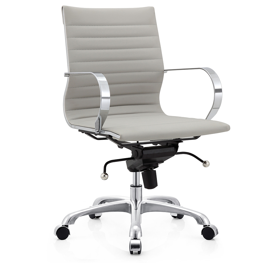 Marna Gray Modern Office Chair