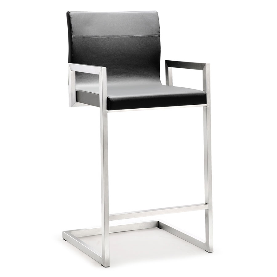 Modern Stools Marshall Gray Counter Stool Eurway