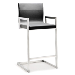Marshall Modern Gray Counter Height Stool