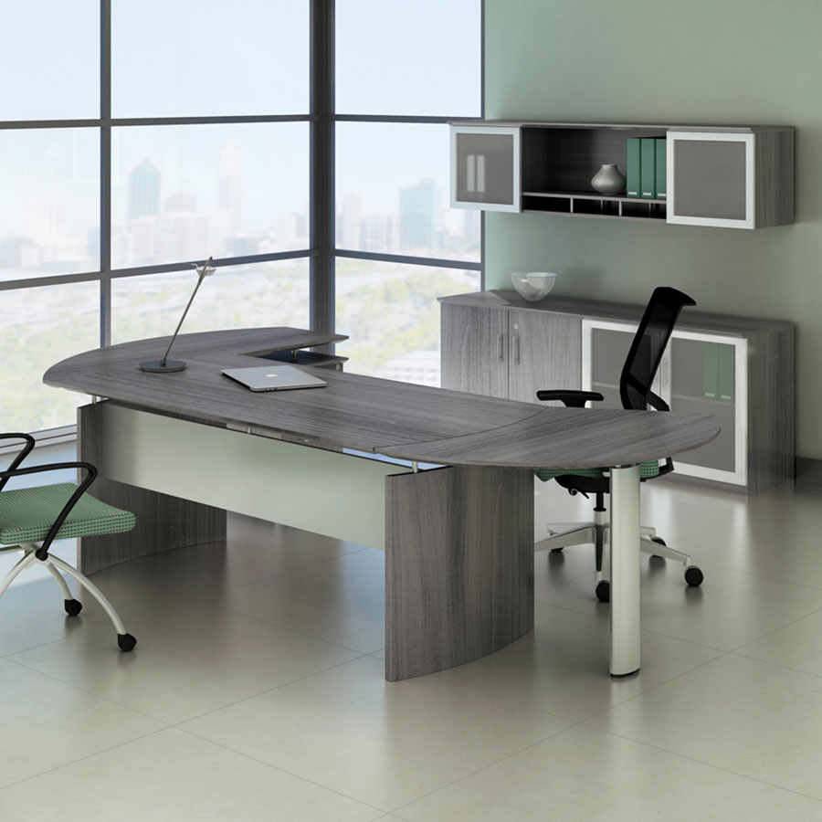 Maya Modern Office Collection + Hutch