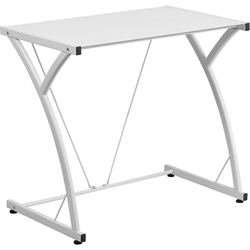 White Mazzoni Contemporary Desk