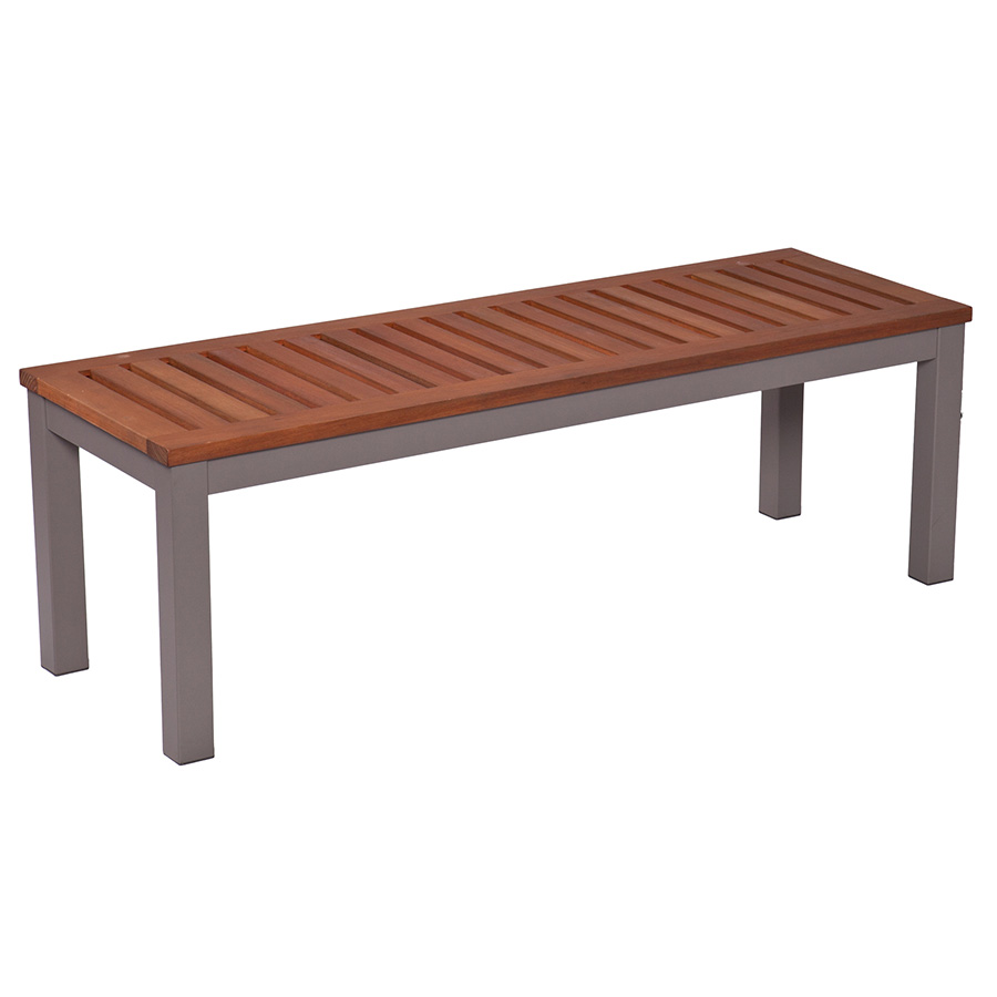 Medina Modern Outdoor Dining Bench
