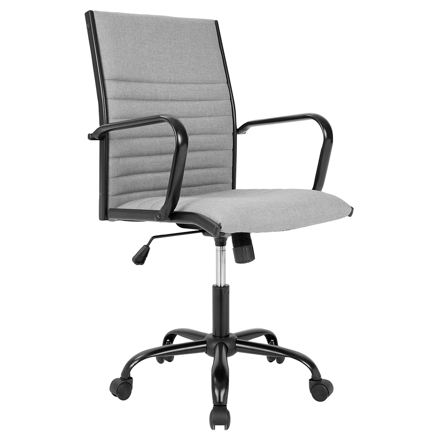 Mencken Gray Modern Office Chair