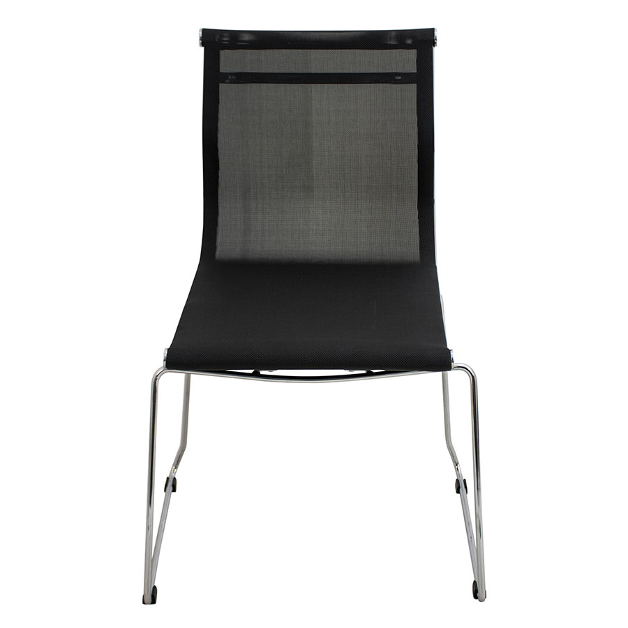 Midland Black Contemporary Side Chair