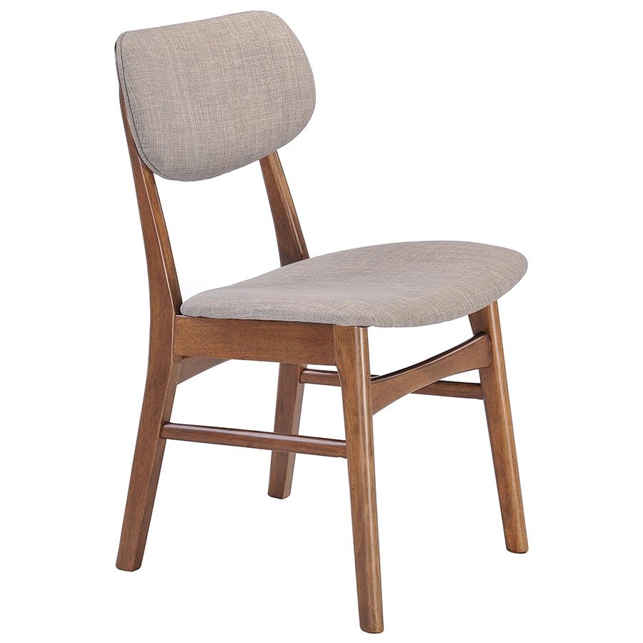 Midolo Modern Dining Chair in Dove Gray