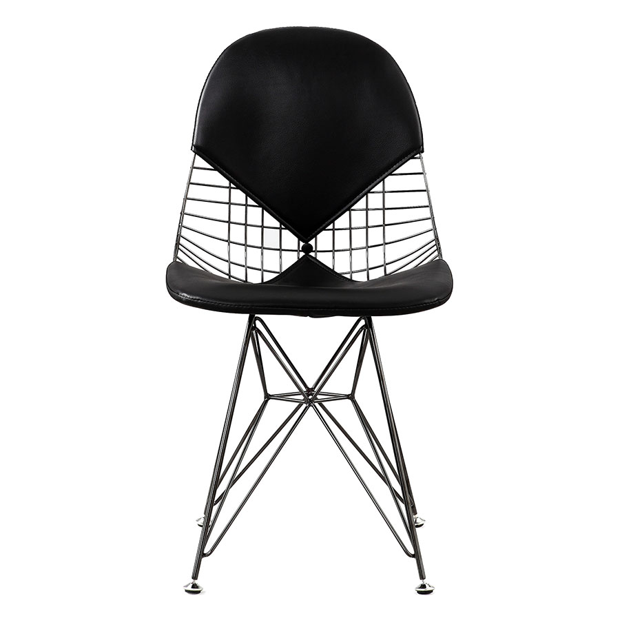 Mildred Black Contemporary Side Chair