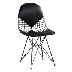 Mildred Black Modern Side Chair