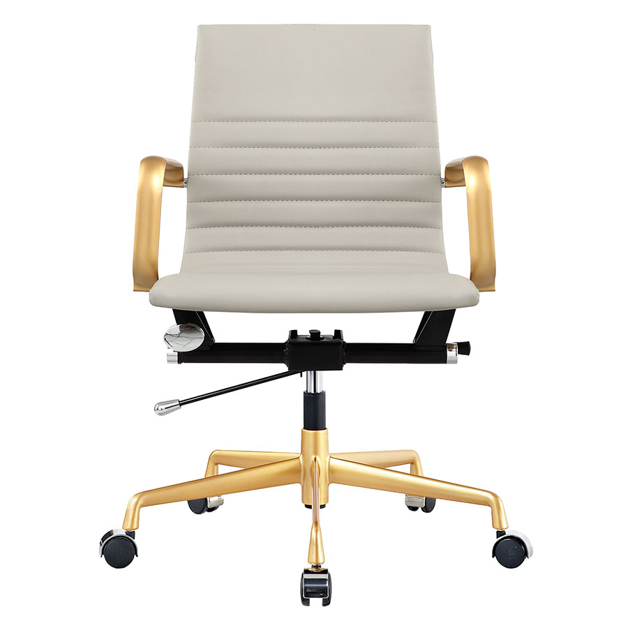 Mirana Gray Contemporary Office Chair