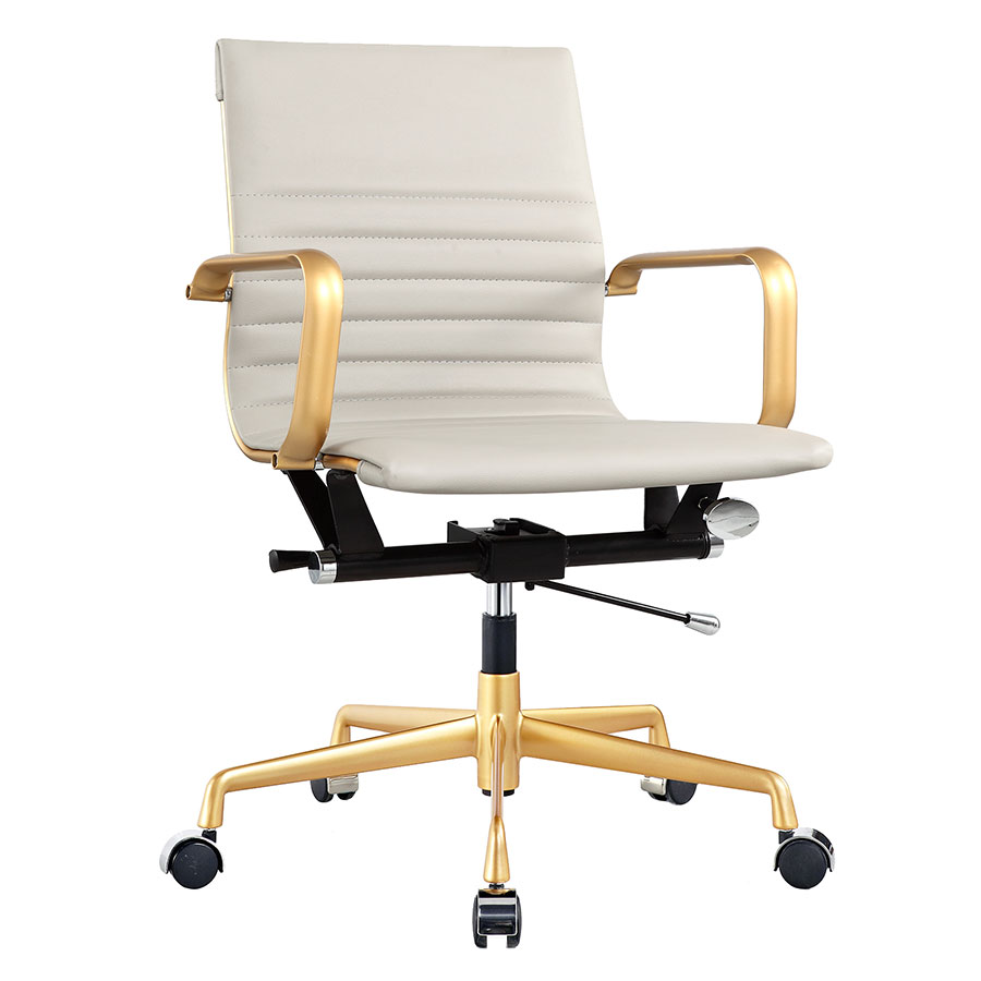 Mirana Gray Modern Office Chair
