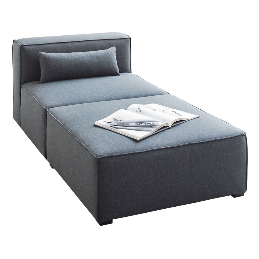 Mix Modular 2 Piece Chaise in Berkeley Shield by Gus* Modern