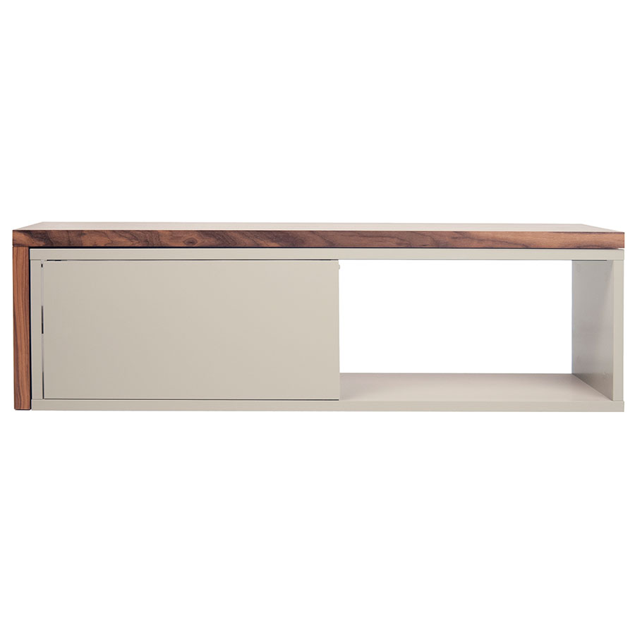 Move Contemporary TV Stand Compact Closed