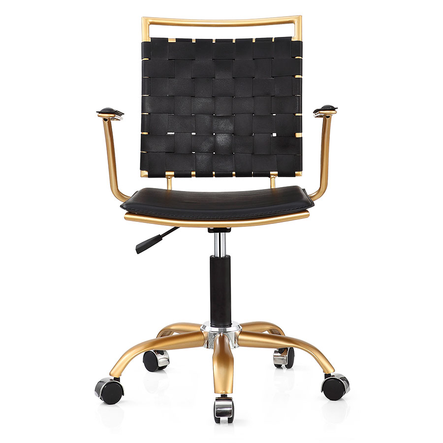 Murdoch Black Contemporary Office Chair