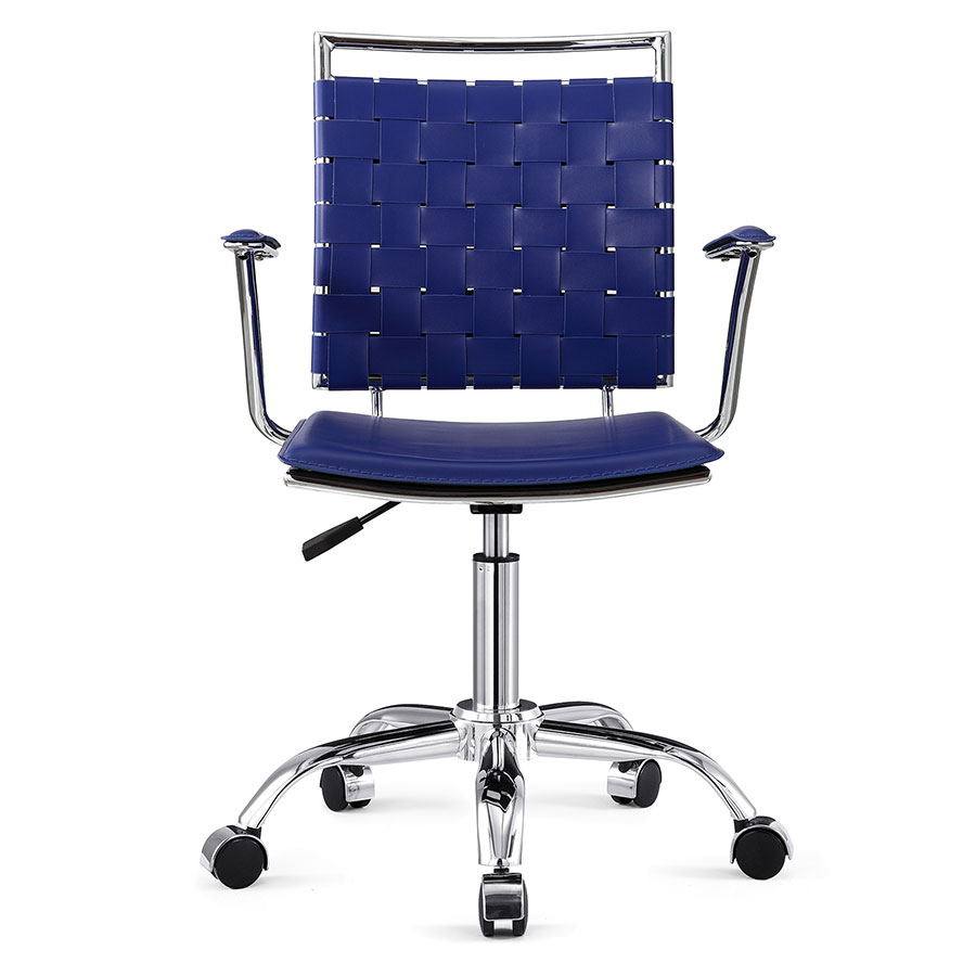 Murdoch Blue Contemporary Office Chair