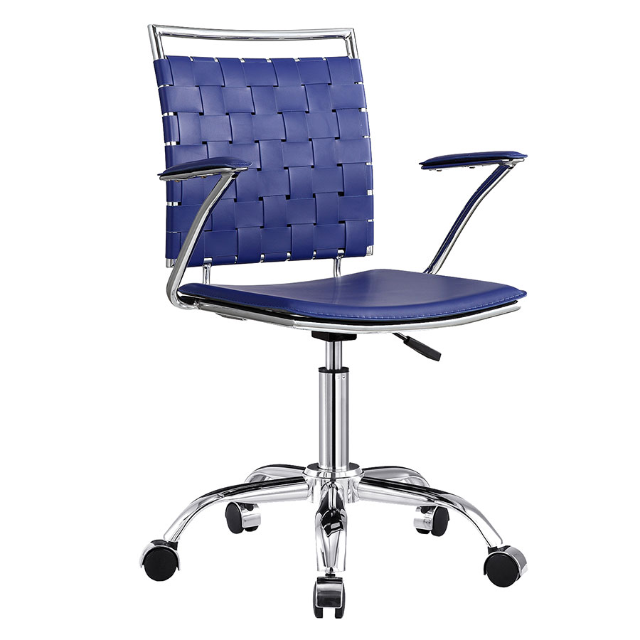 Murdoch Blue Modern Office Chair