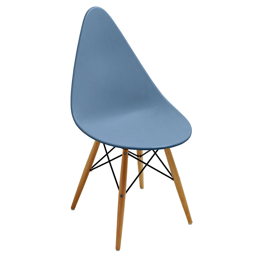 Myron Slate Modern Side Chair