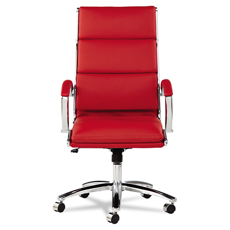Napoli High Back Office Chair in Red