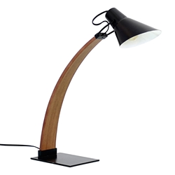 Nathaniel Black Modern Desk Lamp