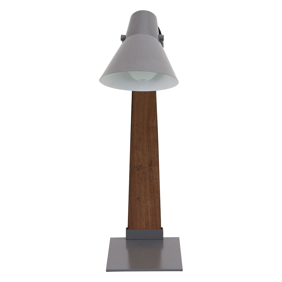 Nathaniel Gray Modern Desk Lamp - Front View