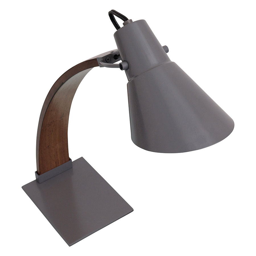 Nathaniel Gray Modern Desk Lamp - Top View