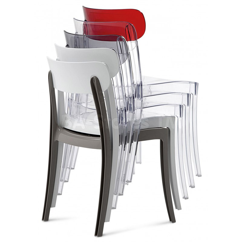 Stackable New Retro Dining Chair
