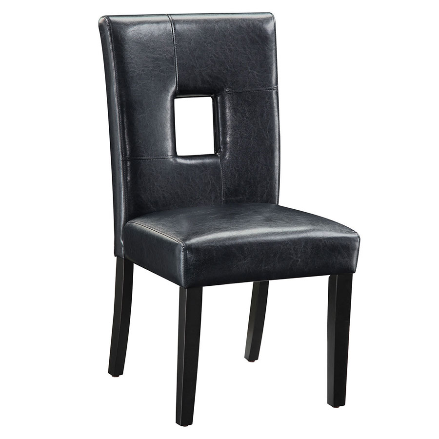 Nicholas Modern Dining Chair in Black