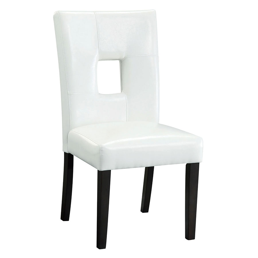 Nicholas Modern Dining Chair in White