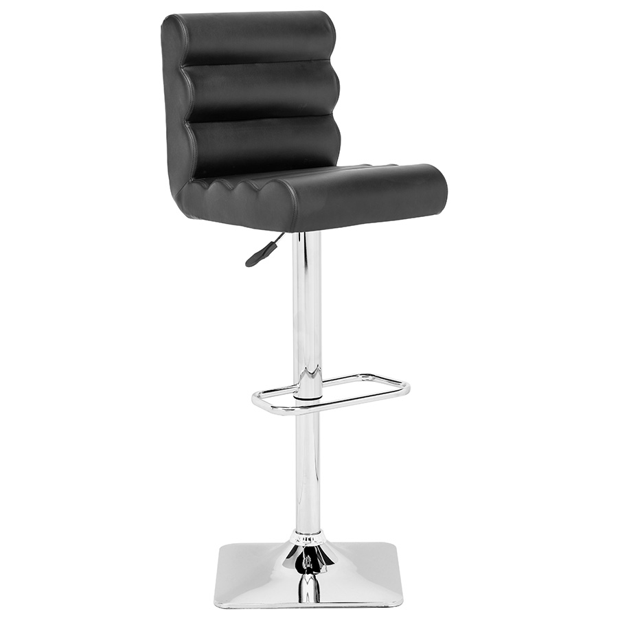 Nikko Modern Black Adjustable Stool