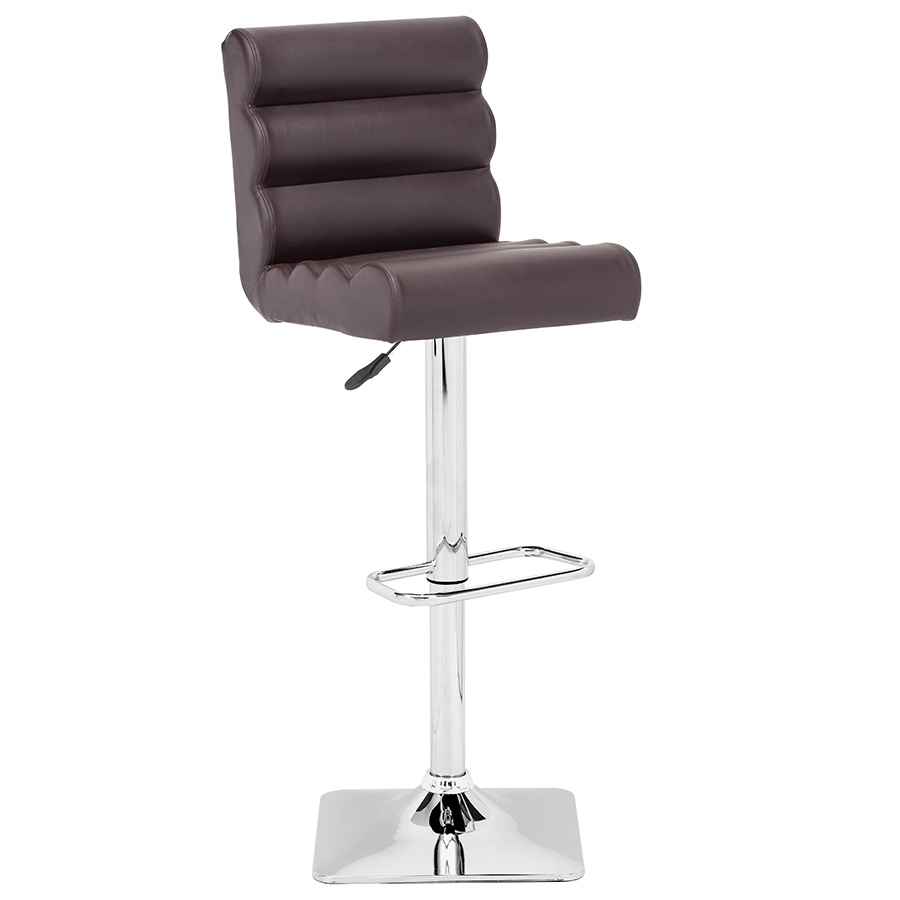 Nikko Modern Espresso Adjustable Stool