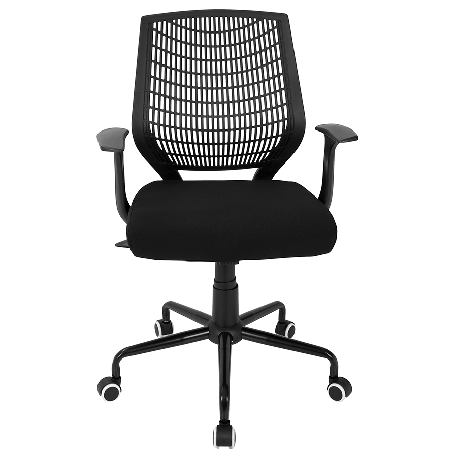 Norfolk Black Contemporary Office Chair