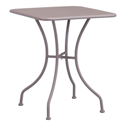 Octavio Taupe Square Modern Outdoor Dining Table