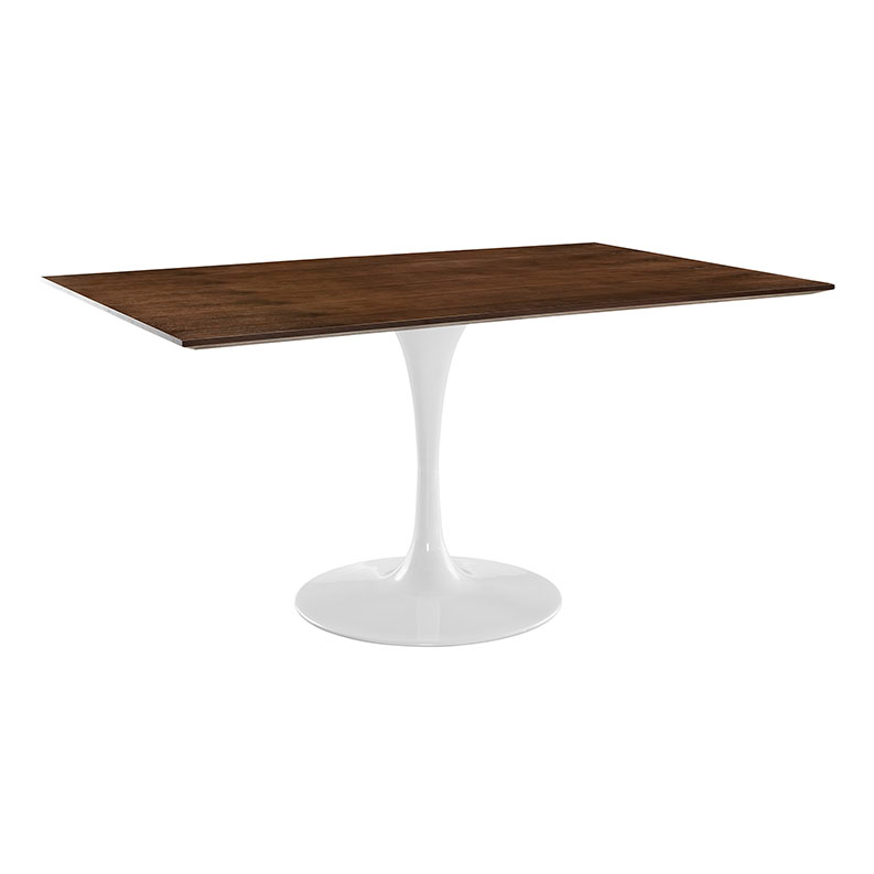 "Odyssey 60"" Rectangle Walnut Modern Dining Table"