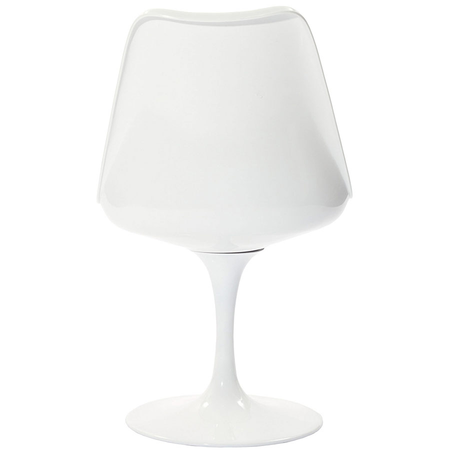 Back of Odyssey Side Chair in White
