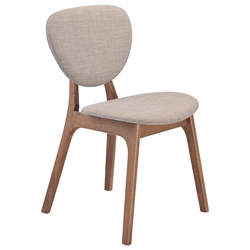 Omega Modern Dining Chair in Dove Gray