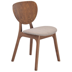 Onda Modern Dining Chair in Dove Gray