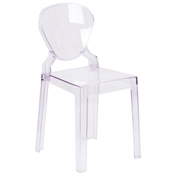 Opal Modern Clear Polycarbonate Dining Chair