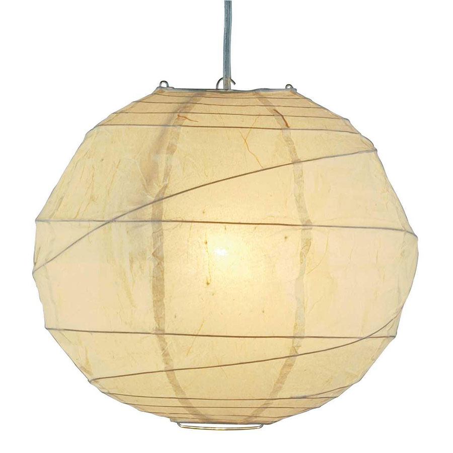 Contemporary Hanging Lights - Orb Large Hanging Accent Lamp